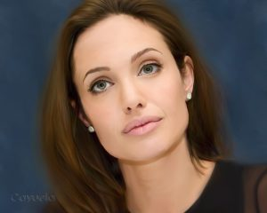 Angelina Jolie - Digital Painting