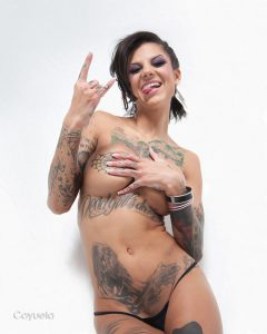 Bonnie Rotten Nude - Digital Painting