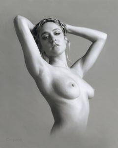 Chloe Sevigny Nude - Digital Portrait