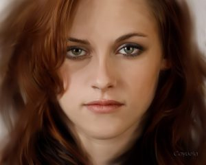 Kristen Stewart - Digital Portrait