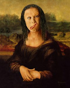 Mona Lisa ( Gioconda ) - Digital Portrait