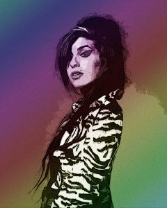 Amy Winehouse - Digital Portrait - Project