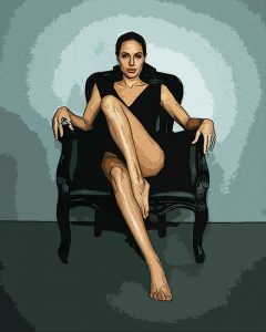 Angelina Jolie - Digital Illustration - Project