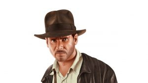 Indiana Jones ( Harrison Ford ) - Digital Illustration ( Stage 5 )