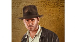 Indiana Jones ( Harrison Ford ) - Digital Illustration ( Stage 6 )