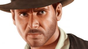 Indiana Jones Portrait - Stage 5 - Close Up