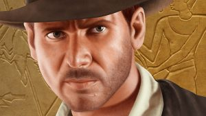 Indiana Jones Portrait - Stage 6 - Close Up