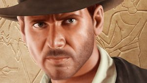 Indiana Jones Portrait - Stage 7 - Close Up