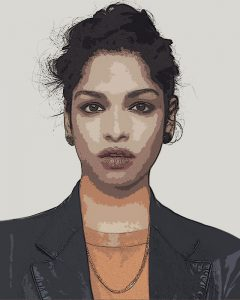 M.I.A. ( Matangi Maya Arulpragasam ) - Digital Portrait - Project