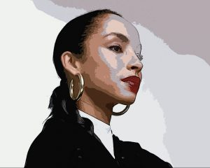 Sade - Digital Portrait - Project