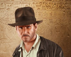 indiana jones digital illustration