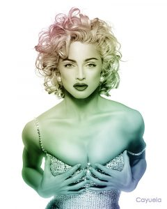 madonna digital illustration