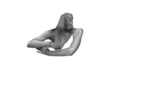 danai gurira as michonne - digital painting