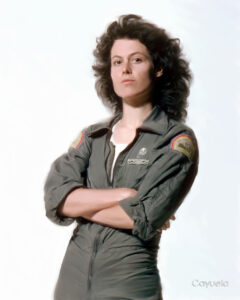 Sigourney Weaver as Ellen Ripley - Digital painting