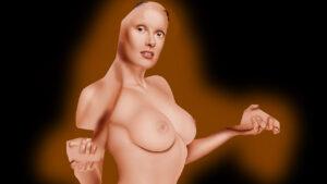 Satanico Pandemonium sexy drawing Salma Hayek naked
